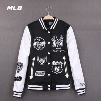 Hot Deal On Sale Sports Jacket Embroidery Baseball [211441975308]