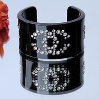 Chanel Woman Fashion Logo Diamonds Bracelet For Best Gift
