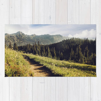 find joy in the journey Rug by sylviacookphotography