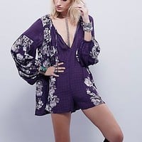 Free People Womens Sunset Boulevard Romper