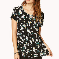 Floating Daisies Top