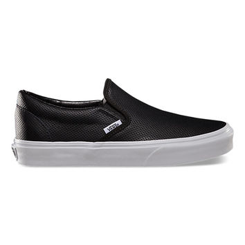 Perf Leather Slip-On | Shop Shoes At Vans
