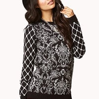 Baroque Print Sweater