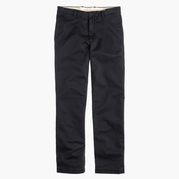 Broken-in chino pant in 1040 athletic fit
