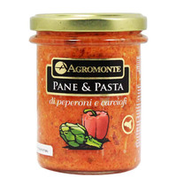 Italian Pepper and Artichoke Topping by Agromonte 7 oz