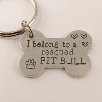 I belong to a rescued Pit Bull