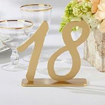 """""""Good As Gold"""" Classic Table Numbers (13-18)"""