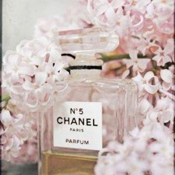 Chanel With Lilacs 8 by 10 Original Fine Art by Kristybee on Etsy