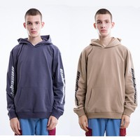 YouthCodes CALABASAS Season5 Hoodie Men Fleece Fashion Hip Hop Skatebaords Kanye West Overize Sweatshirt Sold Thick Winter Cloth