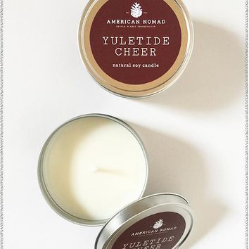 Yuletide Cheer Soy Candle