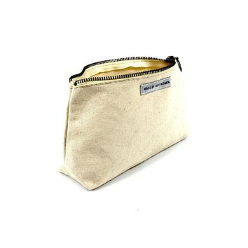 BEAUTY POUCH NATURAL