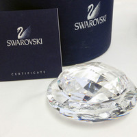Swarovski Clear Crystal Figurine SCS 2005 TROPICAL JEWELRY BOX #807897