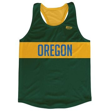 Oregon City Finish Line Running Tank Top Racerback Track and Cross Country Singlet Jersey