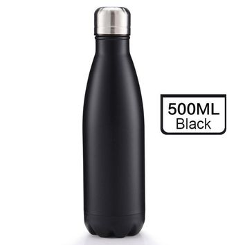 Family Friends party Board game 500ML Bowling Water Bottle Stainless Steel Outdoor Water Bottle Dual Vacuum Tumbler Coffee Office Travel Drinkware Insulation AT_41_3