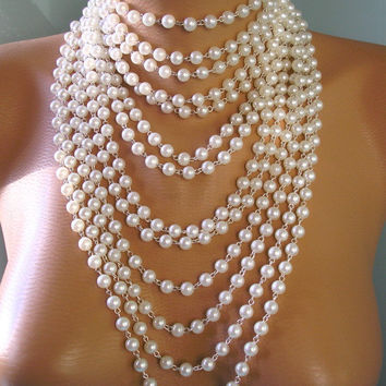 Best 1920s Pearl Necklace Products on Wanelo 48aa0be6f5