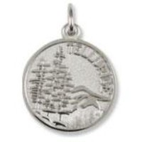 Telluride Charm In Sterling Silver