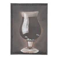 Dark Beer in Tulip Glass Porter Stout Painting Art Tyvek® Card Wallet