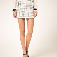 ASOS Premium Mini Skirt at asos.com