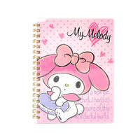 My Melody Spiral Notebook: Hearts