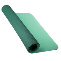 Nike Fundamental 3Mm Yoga Mat Teal Blue One Size For Women 26379424601