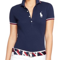 Polo Ralph Lauren Team USA Stretch Polo Shirt | Bloomingdales's