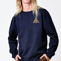 Obey Next Round 2 Crew Neck Sweatshirt - Mens Hoodie