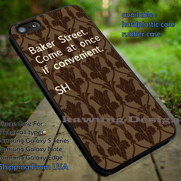 Sherlock Quote Bored Wallpaper iPhone 6s 6 6s+ 5c 5s Cases Samsung Galaxy s5 s6 Edge+ NOTE 5 4 3 #movie #supernatural #superwholock #sherlock #doctorWho dt