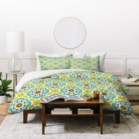 Heather Dutton Mattonelle Duvet Cover