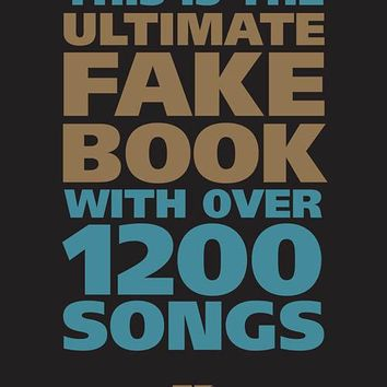 The Ultimate Fake Book – 5th Edition