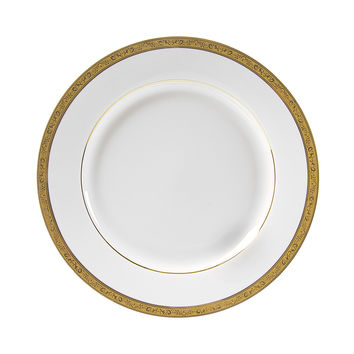 13/4L x 1 1/4H Paradise Gold Dinner Plate/Case Of 24