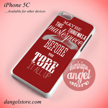 Taylor Swift Lyrics Phone case for iPhone 5C and another iPhone devices