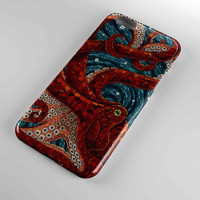 cover for iphone and samsung galaxy case cute mosaic octopus art design cover iphone case and samsung galaxy case