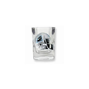 Carolina Panthers 2oz Square Shot Glass - Etching Personalized Gift Item