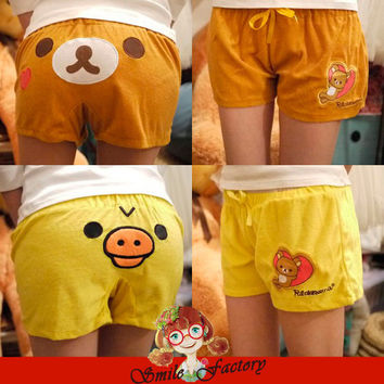 Rilakkuma San-X Lounge Pant ,Sleep Shorts, Sleepware Bottom 1pcs Free shipping