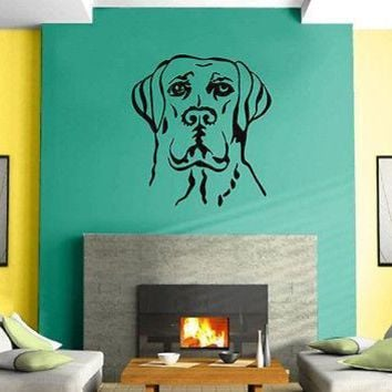 Wall Sticker Vinyl Decal Dog Funny Animal Kids Children Unique Gift z562