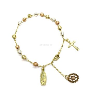 Hand Rosary 18k Gold Plated