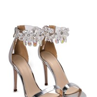 Diamond in the Rough Embellished Heel