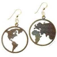 Peace on Earth Iridescent Earrings on Sale for $49.95 at HippieShop.com