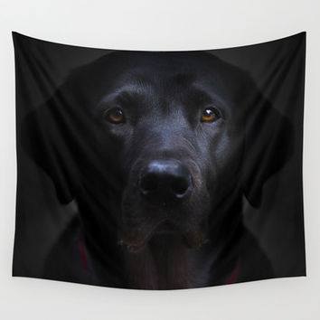 I met a girl Wall Tapestry by HappyMelvin