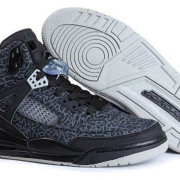 Cheap Air Jordan 3.5 Spizike Retro Men Shoes Black White