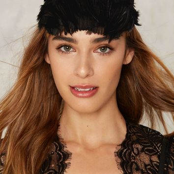 Fraulein Kink Caviar Kitten Feather Head Piece