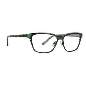 Badgley Mischka - Annora 54mm Sea Green Eyeglasses / Demo Lenses