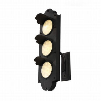Loft countryside vintage Led machinery industrial traffic light wall lamp light wall sconce