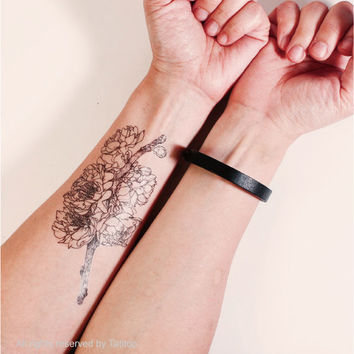 Cherry Blossom - Temporary Tattoo T299