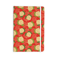 "Holly Helgeson ""Cammelia"" Red Yellow Everything Notebook"
