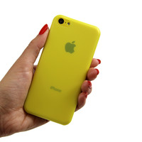 Super thin iPhone 5C Case Yellow