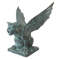 Winged Gargoyle Of Naples