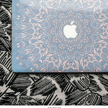 Rose Serenity Mandala Macbook Skin Macbook Pro Skin Macbook Air Skin Macbook Cover Macbook Decal Laptop Skin # Serenity Mandala