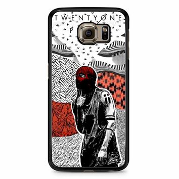 Twenty One Pilots Poster Tyler Samsung Galaxy S6 Edge Plus Case