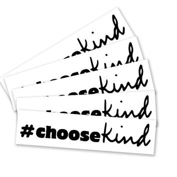 #chooseKind Wonder Movie Temporary Tattoo